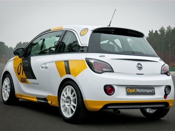 Opel Adam rally car