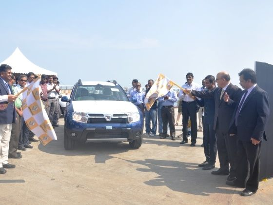 Renault begins Duster exports