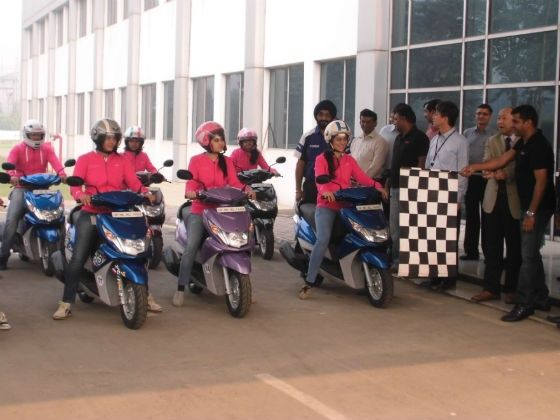 Yamaha RAY door-to-door campaign
