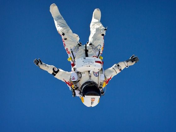 Felix Baumgartner Red Bull Stratos Mission attempt