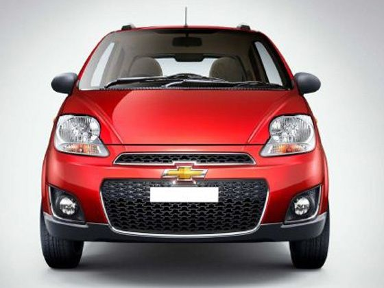 Face-lifted Chevrolet Spark launched