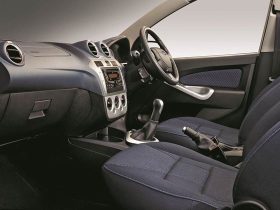 face-lifted ford figo interiors