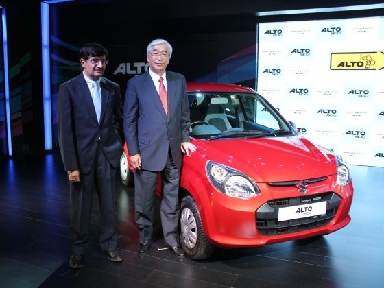 Maruti Alto 800 launch