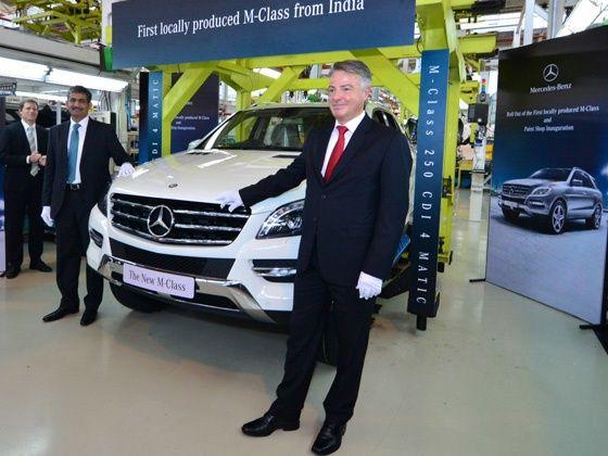 Mercedes-Benz ML250 CDI Launch