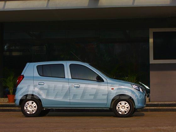 New Maruti Alto 800 side profile