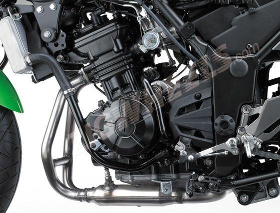 296 cc parallel twin engine