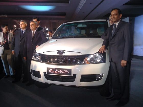 Mahindra Quanto Launched at a price of Rs 5.82 lakh
