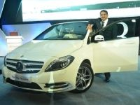 Mercedes-Benz B-Class launch