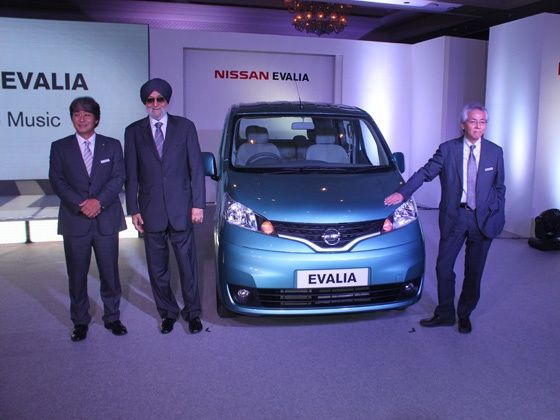 Nissan Evalia Launched