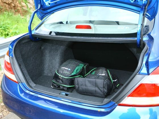 Renault Scala boot space