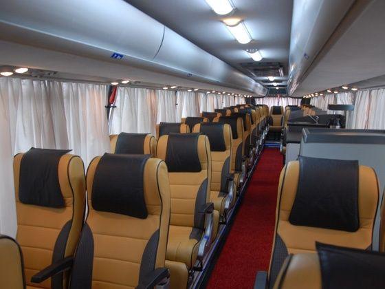 Volvo 9400PX intercity coach - interiors