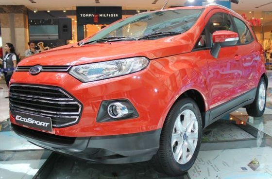 Ford EcoSport front shot