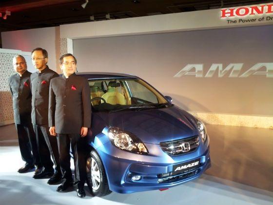 Honda Amaze Launch event
