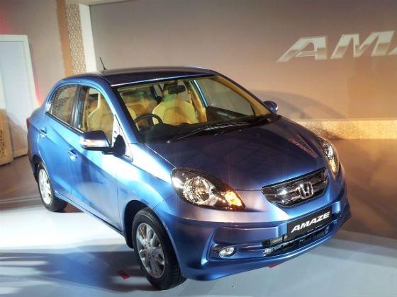 Honda Amaze front profile