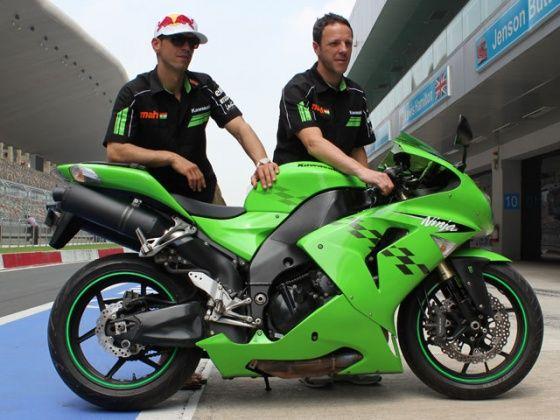 Kenan Sofuoglu and Fabien Foret, Mahi Racing Team India