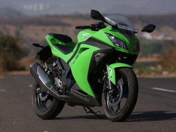 Kawasaki Ninja 300 front styling