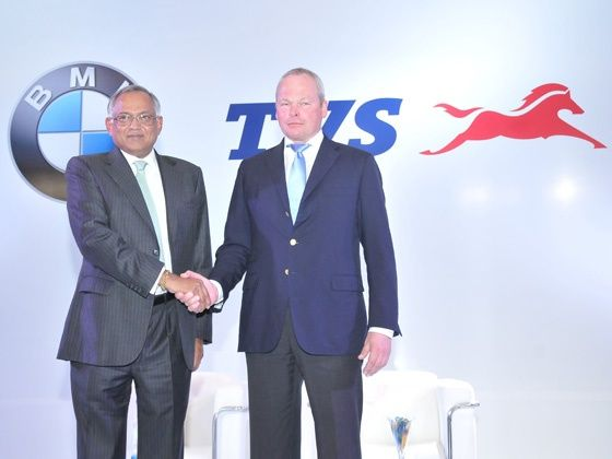 TVS and BMW partner up for motorcyles