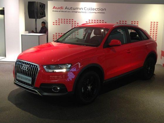 Audi Q3S launch