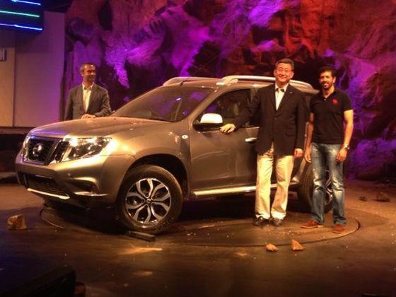 Nissan Terrano SUV unveiled