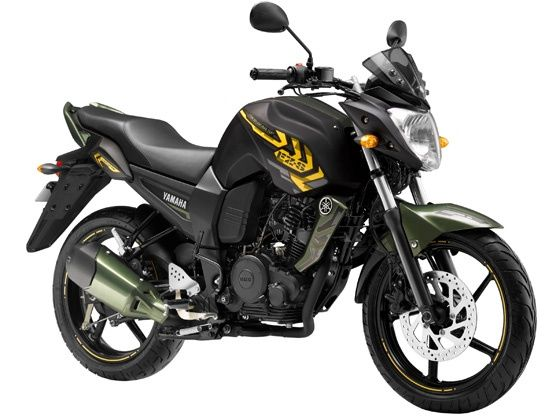 Yamaha FZ limited edition battle green shade