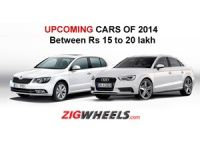Upcoming Cars of 2014 between Rs 15-20 Lakh
