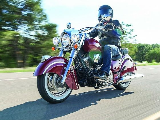 2014 Indian Chief Classic action shot
