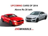Upcoming Cars of 2014 above Rs 20 Lakh