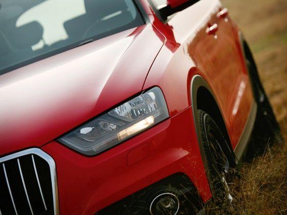 Audi Q3S headlights