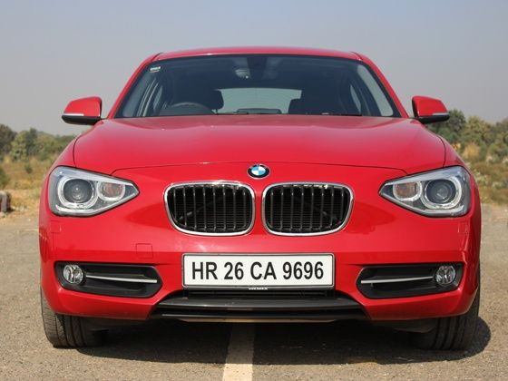 BMW 1 series front grille