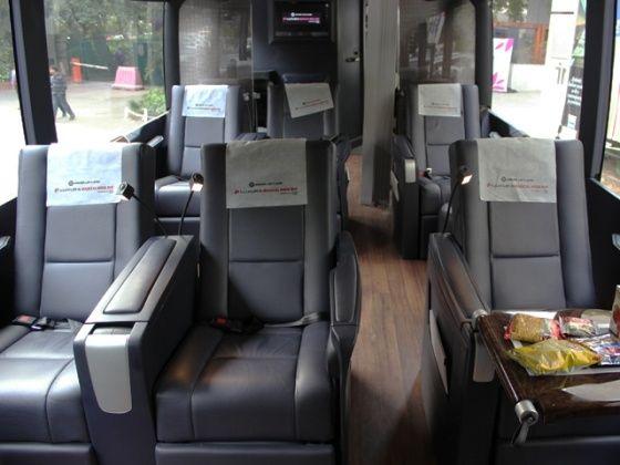 Ashok Leyland Luxura Magical India bus interior