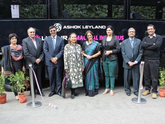 Ashok Leyland Luxura Magical India bus launch