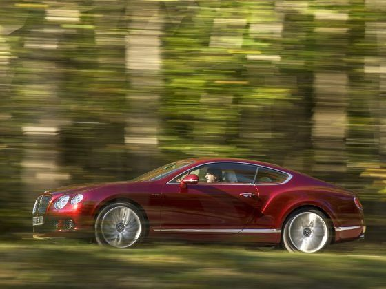 Bentley Continental GT Speed side driving
