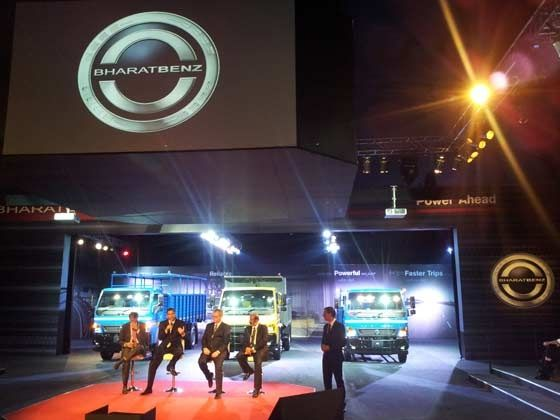 BharatBenz launches its Light-duty trucks