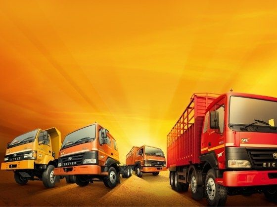 Eicher commercial vehicles