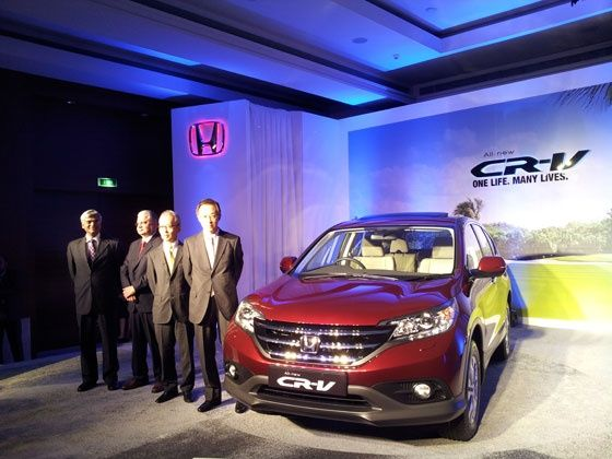 New Honda CR-V Launched