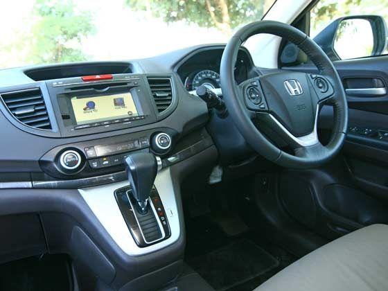 New Honda CR-V interiors
