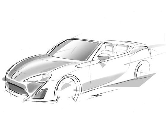 Toyota GT-86 convertible concept