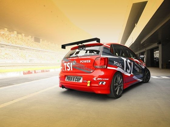 Volkswagen Polo R Cup race car