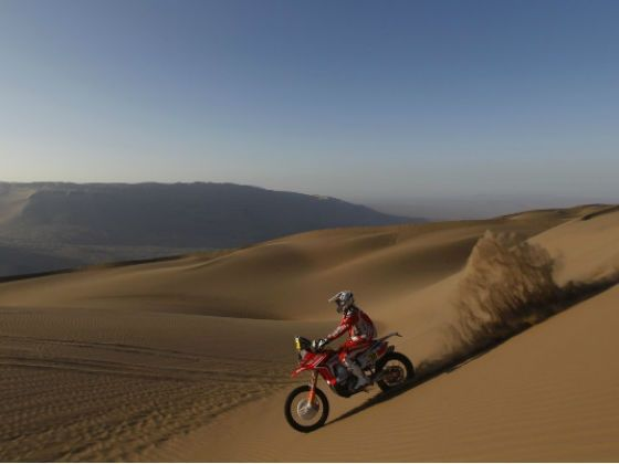 Javier Pizzolito Team HRC 2013 Dakar Rally