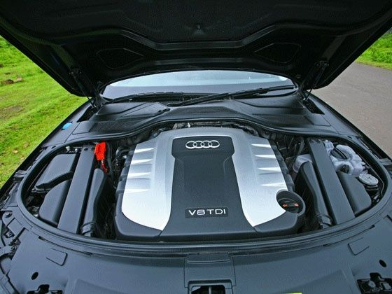 Audi A8 L 4.2 TDI engine