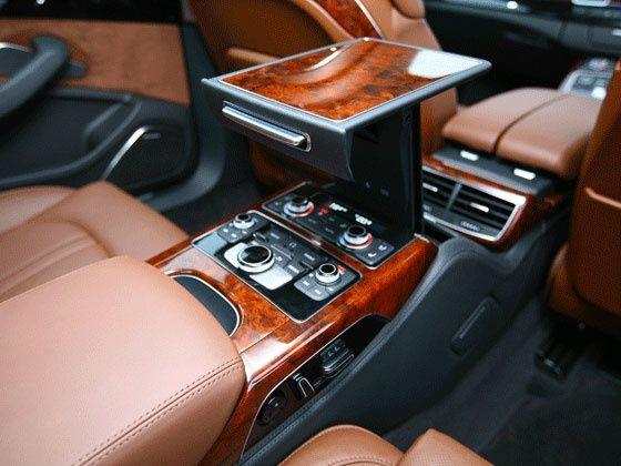 Audi A8 L interiors