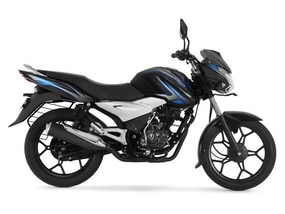 Bajaj Discover 100T side profile