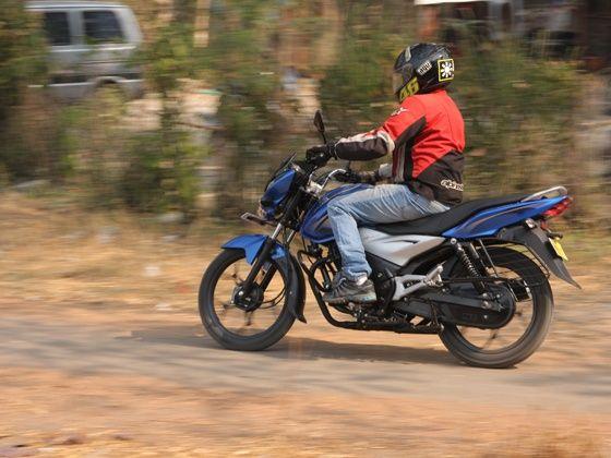 bajaj discover 110T ride performance