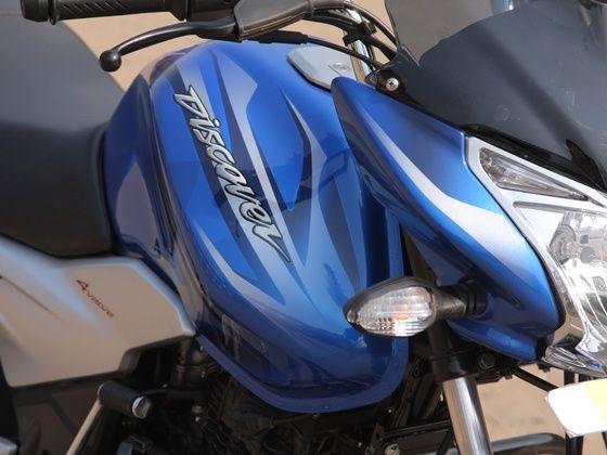 bajaj discover 110T first ride indicators