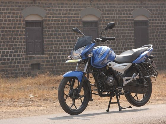 bajaj discover 110T first ride static