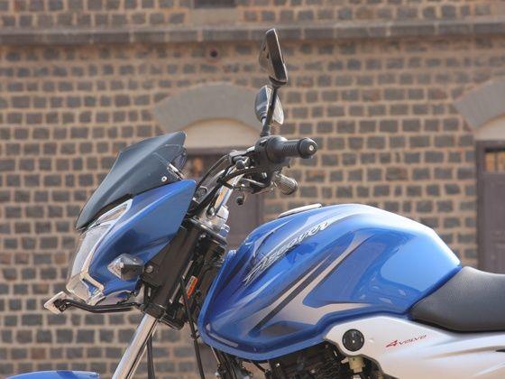 bajaj discover 110T first ride headlight