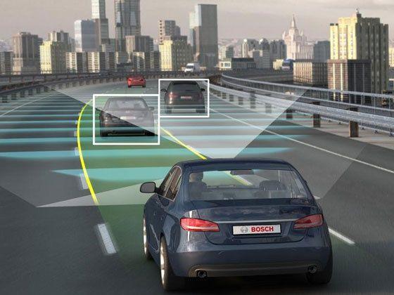 Bosch traffic jam assist