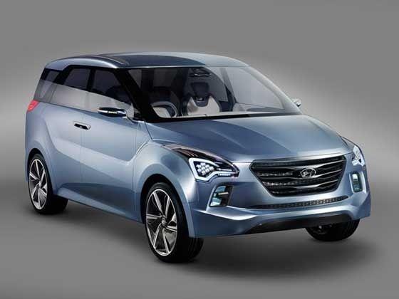 Hyundai Hexa Space Multi-Purpose Vehicle (MPV) Concept