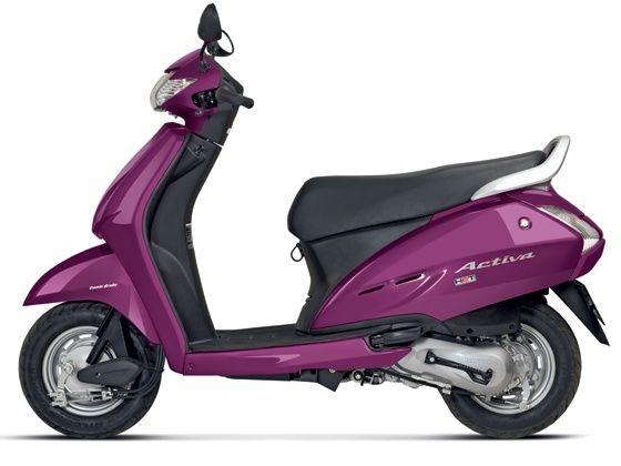 Activa in new  wild purple metallic shade