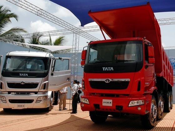 New Tata trucks